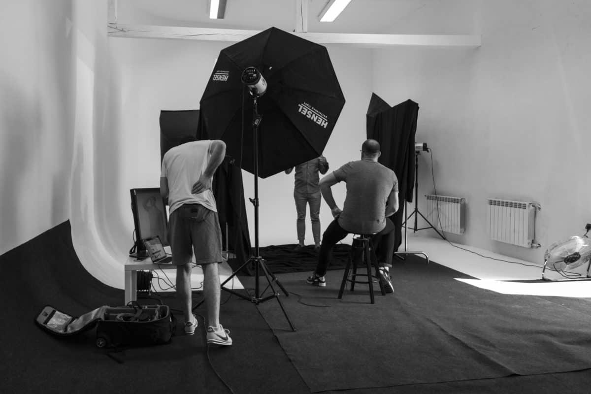 Studio fotograficzne UNIQUE kraków cyklorama